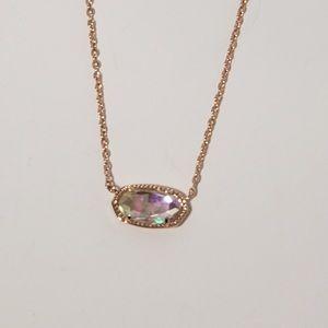 Kendra Scott Rose Gold Elisa Necklace 🌿